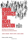 img - for Human Resources and Higher Education: Staff Report on the Commission on Human Resources and Advanced Education book / textbook / text book