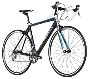 Diamondback Podium 2 Road Bike 700c Wheels, (Black/Blue, 52 cm)