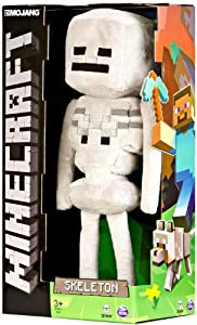 Official Minecraft Skeleton 32.5 cm Plush Toy Figure Offizielle Minecraft Skeleton 32,5 cm Plüschtier Abbildung