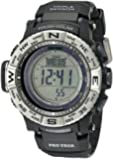 Casio Men's PRW-3500-1CR Atomic Resin Digital Watch