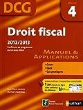 Droit fiscal 2012-2013