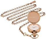 Ted Baker Women's TE4065 Time Flies Rose Gold Charm Watch on Chain Watch