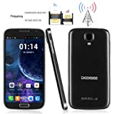 Unlocked Doogee VOYAGER DG300 5.0 Inch QHD Android 4.2 3G Phablet 4GB ROM Dual Core MTK6572W Dual SIM Dual Standby Smartphone GPS Cellphone WIFI WAP Bluetooth Google APPs Tablet PC for Orange, O2, Vodafone, 3 network,T-Mobile, Tesco Mobile, Virgin Mobile