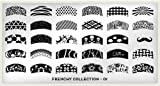 MoYou-London Nail Art Image Plate Frenchy Collection - 01