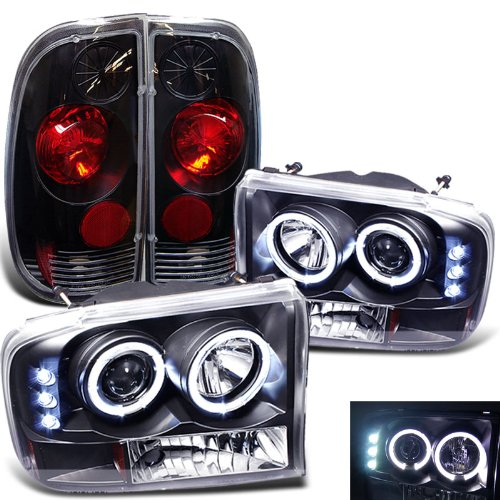 Rxmotoring 1999 2003 ford f250 headlights projector tail for Eyepower tattoo kit