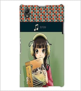 PrintDhaba Quote D-5991 Back Case Cover for SONY XPERIA Z1 (Multi-Coloured)