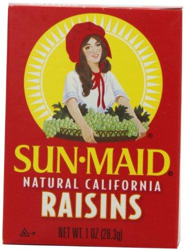 Sun Maid Natural California Raisins, 6-Count (Pack of 24)