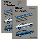 BMW 5 Series (E39) Service Manual 1997-2002, Volume 2: 525i, 528i, 530i, 540i, Sedan, Sport Wagonby Robert Bently Publishers