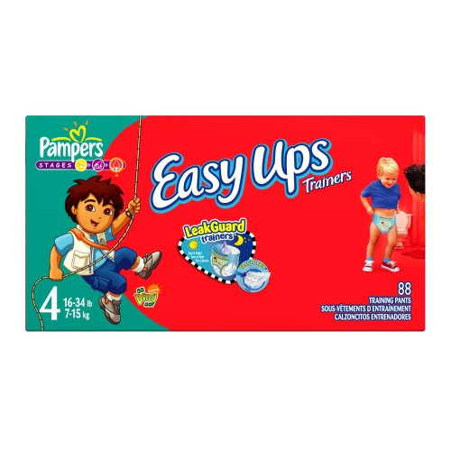 Pampers Easy Ups Trainers for Boys