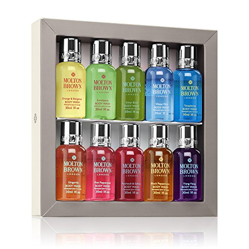 Molton Brown Signature Scents Mini Body Wash Collection