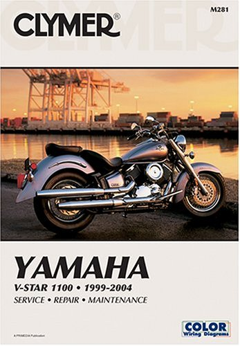 Yamaha V-Star 1100 1999-2004 Service, Repair Maintenance (Clymer Manual) Clymer Publications