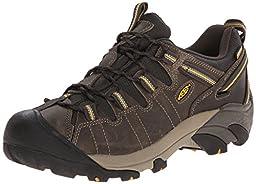 KEEN Men\'s Targhee II Outdoor Shoe, Raven/Tawny Olive, 10.5 M US