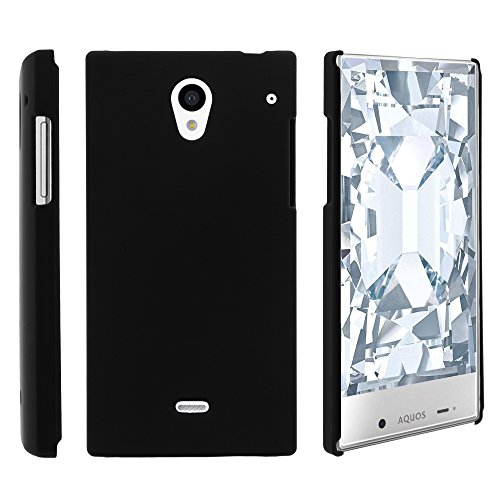 AQUOS Crystal Case, Slim Fit Snap On Cover with Unique, Customized Design for Sharp AQUOS Crystal 306 SH (Sprint, Boost Mobile, Virgin Mobile) from MINITURTLE | Includes Clear Screen Protector and Stylus Pen - Black (Sharp Aquos Crystal International compare prices)