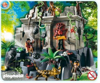 Playmobil 4842 Treasure Temple With Guards front-1077920
