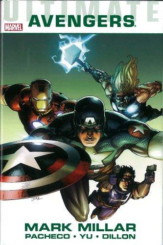 Ultimate Comics Avengers Mark Millar Leinil Francis Yu Carlos Pacheco Marvel C