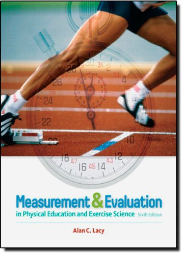 Measurement and Evaluation in Physical Education and...
