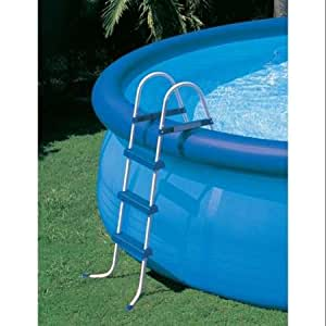 Intex above ground swimming pool ladder with barrier 42 pools toys games Where can i buy a swimming pool near me