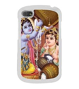 Krishna Balram 2D Hard Polycarbonate Designer Back Case Cover for BlackBerry Q10