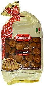 Forno Bonomi Amaretti Biscuits 500 g (Pack of 3)