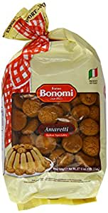 Forno Bonomi Amaretti Biscuits 500 g (Pack of 3)