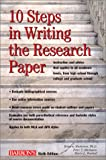 10 Steps in Writing the Research Paper (Barron