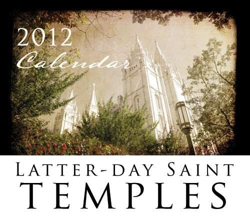 2012 Temple Calendar