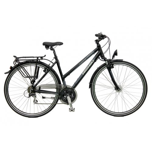 Review Nishiki Trekking Master Trekkig Womens Bikes Ladies 21S black (2011)