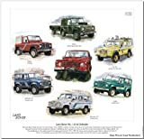 Classic Land-Rover Discovery Print --- The early models 1989 to 1998. Ready to frame.