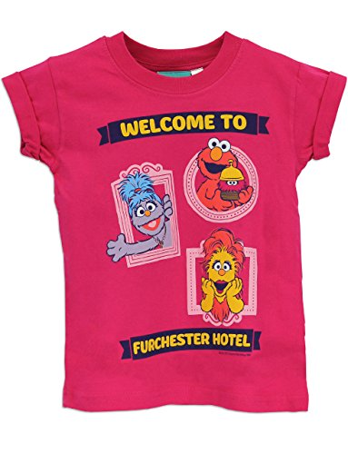 Character Girls' Furchester Hotel Short Sleeved Top