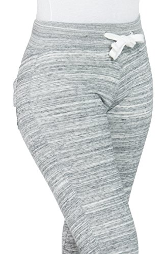 Soft Warm Comfortable Cold Weather Sweatpants for Women (SMALL, GREY-P618)