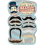 Mr. Moustachio's Top 10 Manliest Mustaches of All Time Assortment