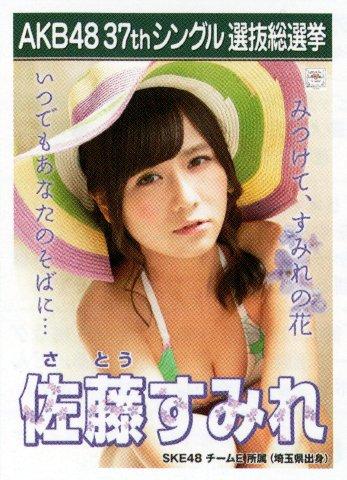 AKB48 公式生写真 37thシングル 選抜総選挙 ラブラドール・レトリバー 劇場盤 【佐藤すみれ】