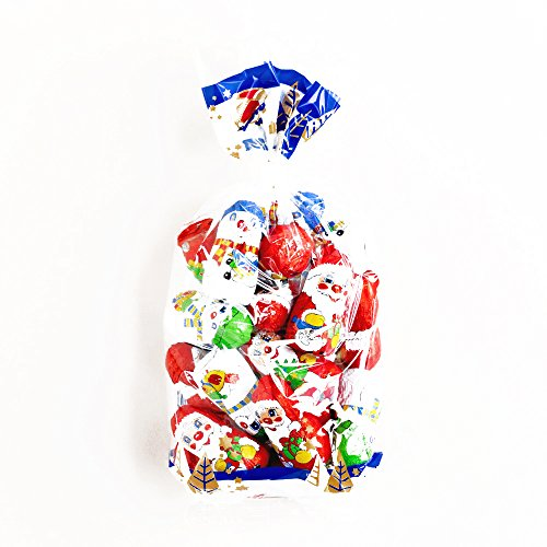 Riegelein Chocolate Santa and Snowman Bag 8.5 oz each - Gourmet Christmas Gift for the Holidays (6 Items per Order, Not per Case)