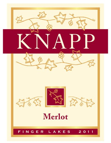 2012 Knapp Winery & Vineyard Finger Lakes Merlot 750 Ml