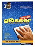 The Glosser Drying and Waxing Wipes 2-pack