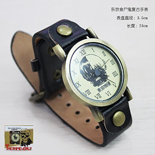 Tokyo Ghoul Ken Kaneki Retro Watch New in Box SHIP FROM TX