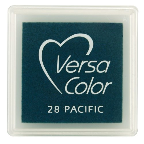 Tsukineko Small-Size VersaColor Ultimate Pigment Inkpad, Pacific