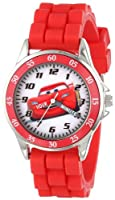 Disney Kids' CZ1009 Watch with Red Rubber Band by Disney