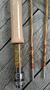 "Flamed Bamboo Fly Rod 6'0"" #3 from zhurod"
