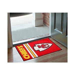 Kansas City Chiefs 20x30 Uniform Inspired Starter Floor Mat (Rug) by Fanmats