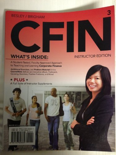CFIN3 Instructor Edition