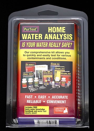 PurTest Home Water Analysis Test Kit