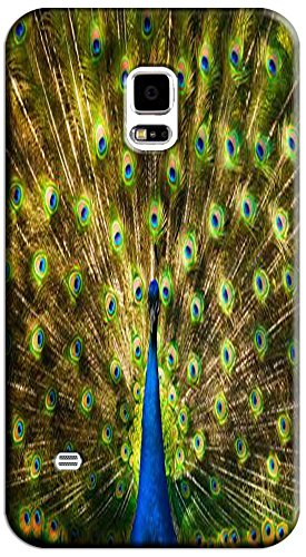 Beautiful Peacock Cell Phone Cases Design Special For Samsung Galaxy S5 I9600 No.8