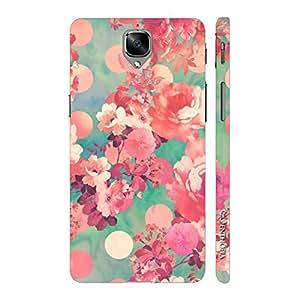Enthopia Designer Hardshell Case Flowery Summer Back Cover for One Plus 3, One Plus 3T