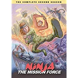 Ninja the Mission Force: The Complete Second Season