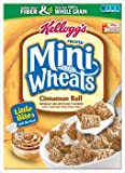 Kelloggs Frosted Mini-Wheats Little Bites, Cinnamon Roll, 15.2 Ounce