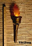 Two Pack Battery Powered Fake (Flameless) Tiki Torch Insert