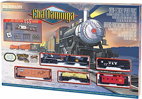 Bachmann Trains Chattanooga Ready - To - Run Ho Scale Train Set (Steam Model Train compare prices)