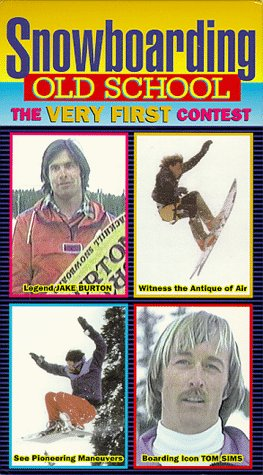 Old School Snowboarding: The Very First Contest [VHS]