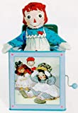 Raggedy Ann Jack-in-the-Box by Schylling **(see below regarding box)**